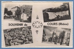 69 - COURS -- Souvenir - 1957 - Cours-la-Ville