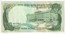 VIET-NAM - 100 DONG - MOT TRAM DONG - A 82 994367 - Viêt-Nam