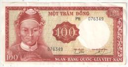VIET-NAM - 100 DONG - MOT TRAM DONG - P8 076349 - Vietnam