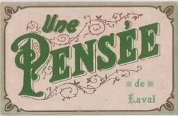 Carte Postale - Une Pensée De Laval - Laval
