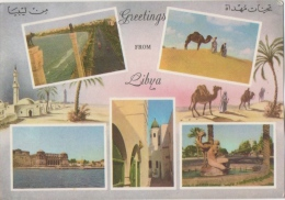 Libye.  Greetings From Libya. Tripoli. Views. - Libia