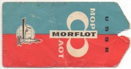 Paquebot. Etiquette De Bagage. U S S R. Morflot. Montréal/Le Havre. - Bateaux