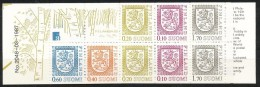 Finnland    -  1987    -  MNH  -19 -    Postfrisch       Staatswappen - Markenheftchen