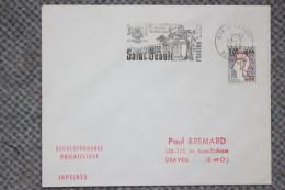 974 La Réunion - Flamme 1968 - St BENOIT - Ses Plantes Et Fruits Tropicaux Sa Vanille Bourbon - Mechanical Postmarks (Advertisement)