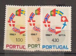 PORTUGAL      1967                N°     1024 / 1026        COTE     6 € 00           ( Y 591 ) - ...-1853 Préphilatélie