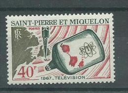 150022776  ST.  PIERRE  ET  MIQUELON  YVERT   Nº  377  **/MNH - Nuevos