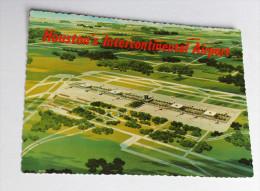 Intercontinental Airport Houston 1969 ASTROCARD Texas Aéroport - Houston