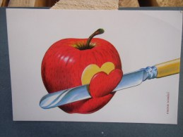 épluchure De Pommes   En Forme De Coeur ( Frank Koridi ) - Illustrators & Photographers