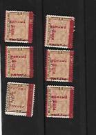 Republique De Panama - Yvert N°84 NEUF X 6 ( Petites Variétés De Surcharge - Az169 - Panama