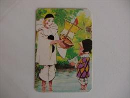 Pierrot Portugal Portuguese Pocket Calendar 1987 - Calendriers