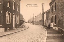 BELGIQUE - NAMUR - SOMBREFFE - Rue De La Station. - Sombreffe