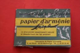 ARMENIA VINTAGE Destructeur D'odeurs Papier D'arménie à Consummer 36 Languettes RESINE DE BENJOIN DU LAOS - Autocollants