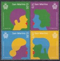 San Marino MiNr. 2638/41 ** Internationaler Tag Des Kusses - San Marino