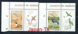 """RUMÄNIEN Mi.Nr. 5414-5415 EUROPA CEPT """"Natur- Und Nationalparks"""" - 1999- Zierfeld - MNH - Europa-CEPT"""