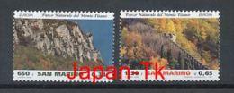 "SAN MARINO Mi.Nr. 1832-1833 EUROPA CEPT ""Natur- Und Nationalparks"" - 1999- MNH - Europa-CEPT"