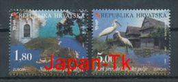 """KROATIEN Mi.Nr. 498-499 EUROPA CEPT """"Natur- Und Nationalparks"""" - 1999- Used - Europa-CEPT"""