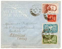 LETTRE - INDOCHINE/COCHINCHINE - Le 31/9/1948 Pour Asnières - Guerre D'Indochine / Viêt-Nam