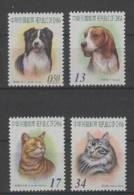 China - Taiwan (2006) Yv. 3023/26  / Dogs - Chiens - Perros - Hunden - Hunde