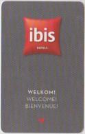 HOTEL KEYS - 0683 - NETHERLAND - IBIS HOTELS - Cartas De Hotels