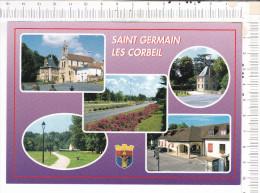 SAINT  GERMAIN  LES   CORBEIL   -    5  Vues - Andere Gemeenten