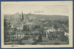 Duß In Lothringen Stadtansicht Fabriken Bergbau, Gelaufen 1918 (AK633) - Lothringen