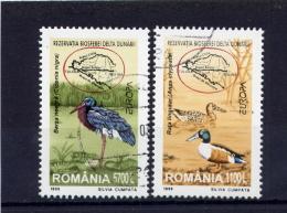 RUMANIA / ROMANIA / ROUMANIE  Año  1999  Yvert Nr. 4541/42   Usada  Europa CEPT - 1948-.... Repúblicas