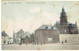 Fontaine L'éveque  Chateau De Mr Le Notaire Bastin Nels Serie 3 N° 32 Couleur - Fontaine-l'Evêque