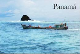 Lote PEP913, Panama, Postal, Postcard, Pescadores Artesanales, Fishermen In Perlas Islands - Panama