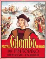 """04008 """" AUGUSTO BO - FIM - TORINO PASTELLI COLOMBO 18 COLORI"""". PROVA DI STAMPA PER  C ONFEZIONE, ORIGINALE. - Pubblicitari"""