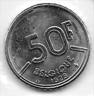 50 Francs Baudouin 1989 FR     FDC - 1951-1993: Baudouin I