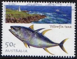 Australia 2003 Fishing - Fish 50c Yellowfin Tuna Used - Gebraucht