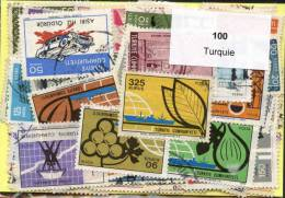 100 Timbres Thème Turquie - Turquie