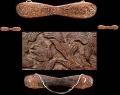 Ornement Mural (ancien Noinoi Birman)  - Très Décoratif Pour Orner Un Mur Ou Au Dessus  / Old Burmese Teck Wood Ornament - Art Asiatique