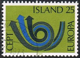 Iceland SG503 1973 Europa 25k Good/fine Used [10/26144/6D] - Used Stamps