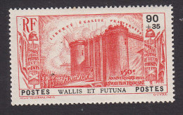 Wallis And Futuna, Scott #B3, Mint Never Hinged, French Revolution Series, Issued 1939 - Unused Stamps