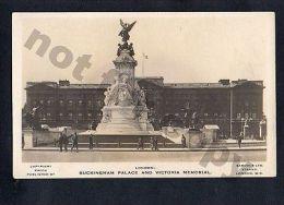 London Buckingham Palace Samuels REAL PHOTO RPPC Vintage Ca1900 Postcard - Verenigd-Koninkrijk