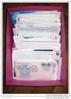 Mise A Prix 1 Euro France 1 Carton De Lettres Fdc Premier Jours ...204 Pieces - Timbres