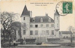 GERMAIN DE SALLES:CHATEAU DES JOYEUX - France