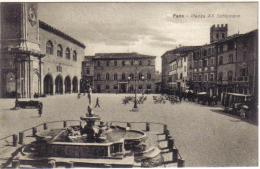FANO PIAZZA XX SETTEMBRE CONVITTO NAZIONALE NOLFI MEDAGLIA D'ORO COD.C.017 - Fano