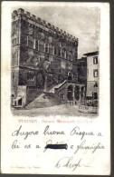 PERUGIA PALAZZO MUNICIPALE VIAGGIATA 1905 INDIRIZZO CANCELLATO COD.C.024 - Perugia