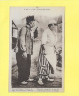 CPA 63 TYPES D´AUVERGNE NON NON TOINETTE VOLE PAI TE ( Théatre Couple Travesti ) - Teatro