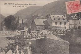 591509- LES ESPANA -  Antiguo Puente De Madera A La Entrada De Les - Espagne