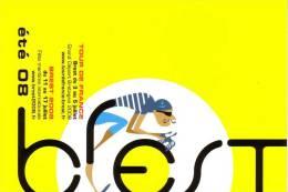 BREST (FINISTERE) : CYCLISME TOUR DE FRANCE Et FETE MARITIME 2008 - Cyclisme