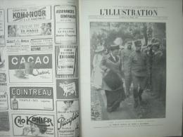 L'ILLUSTRATION 3656 ROIS DE GRECE/ JANINA/ SILISTRIE/ TOKIO  22 MARS 1913 - Kranten