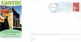 PAP CANTIN (NORD) : Fête De La RHUBARBE Et Des GEANTS - Postal Stamped Stationery