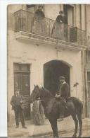 BEZIERS (HERAULT) CARTE PHOTO DES ETS GAIRAUD FILS (HOUILLES COKES AGGLOMERES ANTHRACITE CHARBONS DE BOIS POMMES TERRE) - Beziers