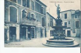 POMEROLS (HERAULT) PLACE DE LA MAIRIE - France