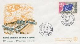 089 CONSEIL DE L´EUROPE - Session Du 21 Au 28 Septembrebre 1961 Avec Chypre TTB - Covers & Documents