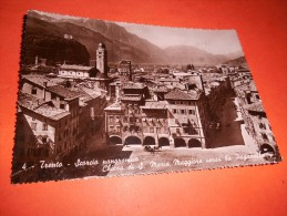 B647 Trento Scorcio Viaggiata Pieghina Angolo - Trento