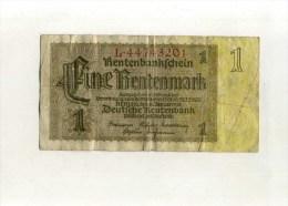 - ALLEMAGNE . BILLET  1 M. 1937 . - [ 4] 1933-1945 : Terzo  Reich